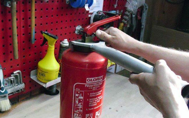 Brandschutztechnik Godeck-Rucker - Feuerlöscher Gloria