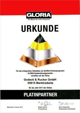 Gloria Platinpartner - Brandschutztechnik Godeck-Rucker